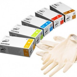 X-756 Перчатки медицинские в упаковке 100 штук
