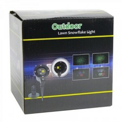 Х-3499 Outdoor Lawn Snowflake light