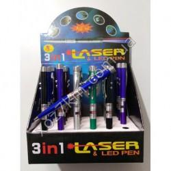 X-3143 LED ручка +лазер