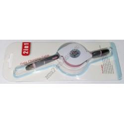X-21 USB Кабель для зарядки iphone и для samsungа